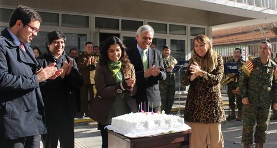 El MOP celebró sus 129 años reafirmando compromiso de sus trabajadores con la Región y el país