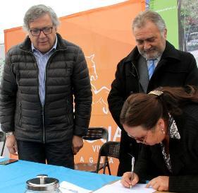 Construcción del Parque La Victoria de Rancagua comienza a convertirse en realidad