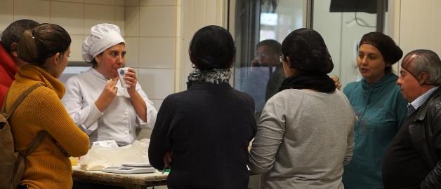 Empresarios panaderos participaron de taller práctico  de reducción  de sodio en el Pan