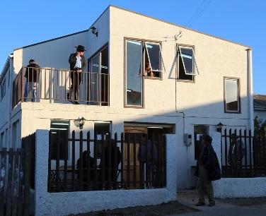 Gobierno Regional inaugura sede comunitaria y veredas en comuna de Navidad