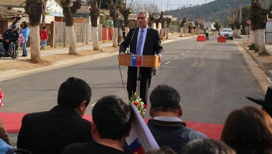 Gobierno inaugura mejoramiento de Avenida Querelema en Paredones