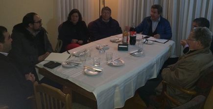 Directica del Colegio Médico de Rancagua se reúne con SEREMI de Medioambiente