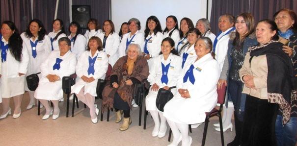 Damas de Blanco de Hospital Santa Cruz celebran 3 años al servicio a la comunidad