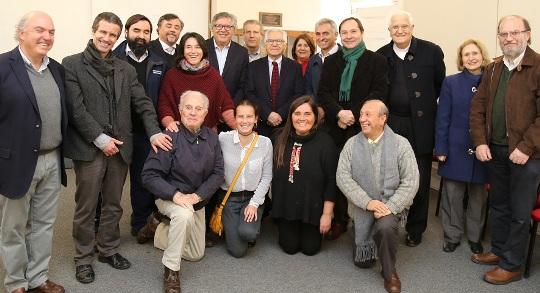 Ministro Fernández se reúne con Corporación Gaudí en Rancagua