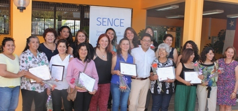 Programa +Capaz capacita a 500 mujeres jefas de hogar en la región de O'Higgins