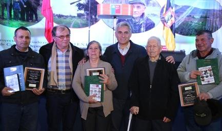 Campesinos de la región celebran su día con proyecto cultural