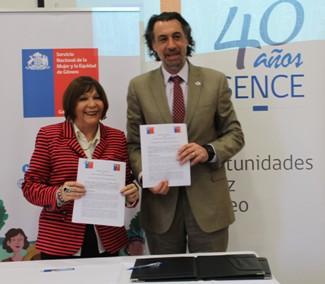 Convenio entre SERNAMEG y SENCE favorece la formación laboral de más de 27 mil mujeres en el país