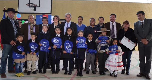 Autoridades inauguran obras de mejoramiento  de escuela rural unidocente de Paredones