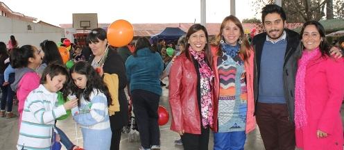 Más de 400 niños y niñas del sector poniente de Rancagua despiden vacaciones de invierno
