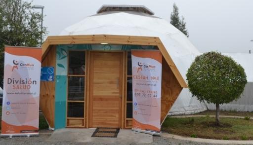 CESFAM N° 4 de Rancagua inauguró novedoso Domo de Salud Complementaria