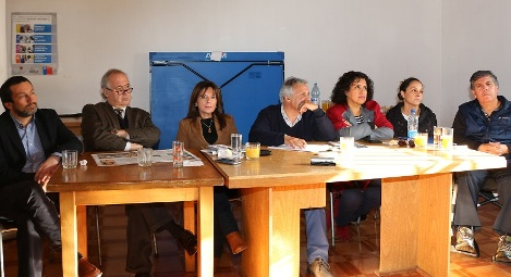 Consejeros regionales sesionan en villa Cobil de Rengo