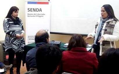 SENDA, capacita en Drogas a Pequeñas y Medianas Empresas de la región
