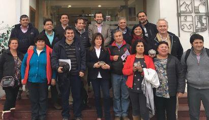 Asociación de Ferias Libres estrecha lazos con Comisión de Fomento Productivo del CORE