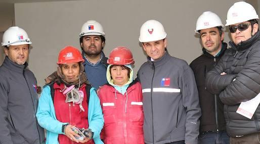 Autoridades regionales del Trabajo difunden programa de la Construcción entre trabajadores de Machalí