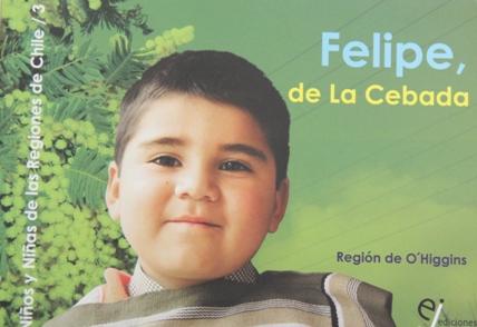 Niño de Las Cabras protagoniza libro editado por la JUNJI
