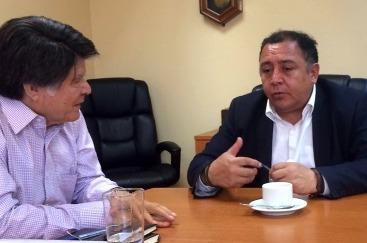 Alcalde de Graneros reiteró las exigencias  vecinales al nuevo presidente de EFE