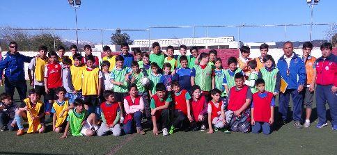 Baby fútbol de Rancagua disfrutó su primer encuentro amistoso