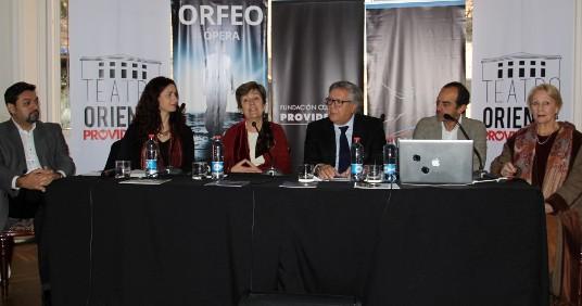 """Ópera """"Orfeo"""" del Teatro Regional de Rancagua tendrá su estreno en Providencia"""