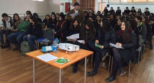 """INJUV O'Higgins realiza capacitación de """"Joven Sustentable"""" en la región"""