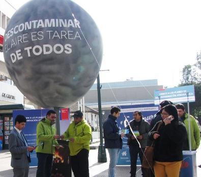 """Ministerio del Medio Ambiente lanzó en Rancagua campaña """"Descontaminar es tarea de todos"""""""