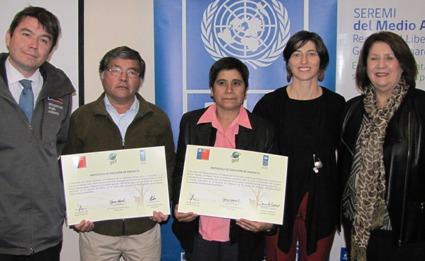 """En Rancagua se realizó ceremonia de entrega de recursos del """"Proyecto Comunidades Mediterráneas Sostenibles"""""""