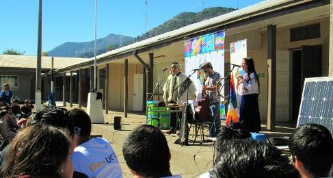 Eco Escuela Artística Kalfumalén busca incluir Educación Artística en las Aulas Rurales de San Fernando