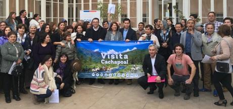 Empresarios turísticos de Cachapoal se constituyen como asociación gremial