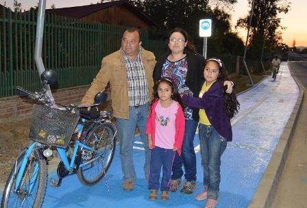 Comunidad de Pueblo de Indios celebró puesta en marcha de ciclovía