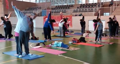 Gimnasio Municipal de Rancagua realiza deporte gratuito para toda la familia