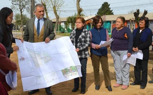 Plaza de Barrio Las Américas de Graneros contará con espacios diferenciados para la comunidad