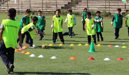 Cerca de 400 niños y niñas de Graneros participaron en encuentro EDI del MINDEP