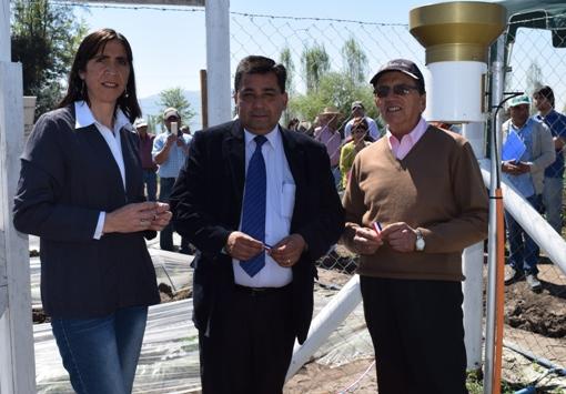 INIA y municipalidad de Quinta de Tilcoco inauguran nueva  estación meteorológica