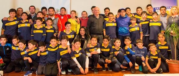 Escuela de Fútbol de La Estrella cumple un nuevo año de vida