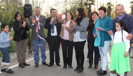 Quinta de Tilcoco inaugura camino El Cristo