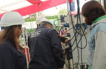 SEC y SEREMI de Energía intensifican fiscalización a los sistemas eléctricos de fondas y ramadas en la Región