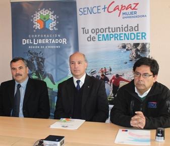 SENCE y Corporación del Libertador firman convenio de colaboración
