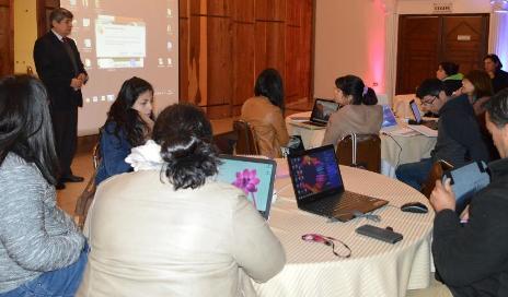 Capacitan a docentes en innovadoras herramientas tecnológicas para uso en el aula