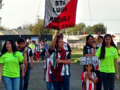 """Liga de fútbol Machalí, """"La mejor jugada es la prevención"""""""