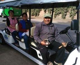 Más de 2 mil adultos mayores han utilizado el transporte gratuito en Graneros