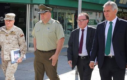 Intendencia y Fuerzas Armadas disponen plan de contingencia para elecciones municipales