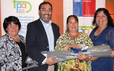 En Lo Miranda se realizó ceremonia de cierre de proyecto que se adjudicó un Fondo de Protección Ambiental 2016