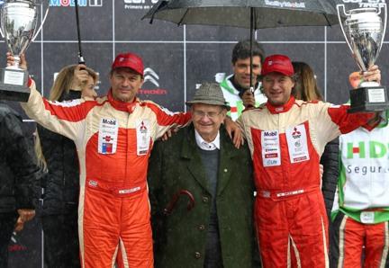 En Complejo Deportivo Patricio Mekis se efectuó la premiación del Rally Mobil Rancagua