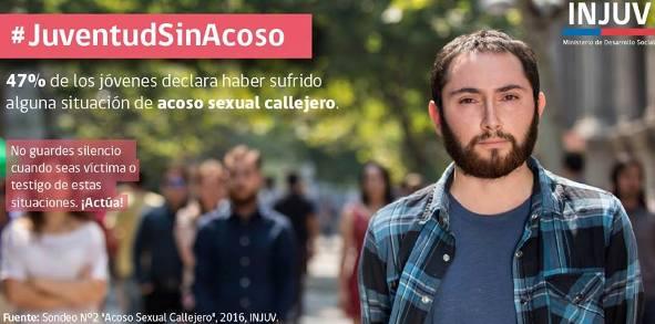 El 47% de las y los jóvenes declara haber sufrido una situación de acoso sexual callejero