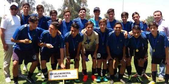 Electrizante final se disputó en el Campeonato de Fútbol Rancagua Crece