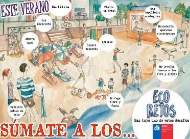 """Vuelven los """"EcoRetos"""" a Pichilemu"""