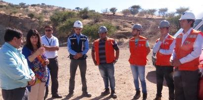 SEREMI de Minería y Municipalidad de Nancagua prestan apoyo a mineros de esa comuna