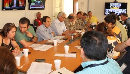 Subsecretario de Servicios Sociales del Ministerio de Desarrollo Social participa en Comité de Operaciones de Emergencia