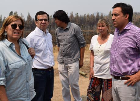 Ministro de Economía visita a beneficiarios de SERCOTEC  en la comuna de Lolol