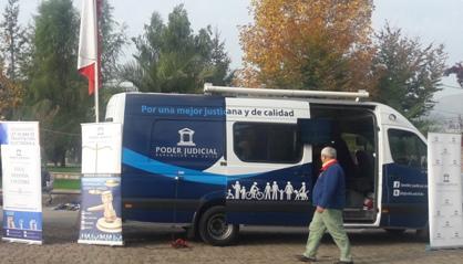 Bus Judicial llegará a Codegua y Doñihue para atender en terreno las consultas de la comunidad