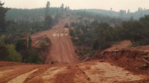 Obras Públicas concreta 158 kilómetros de cortafuegos para el combate de incendios forestales